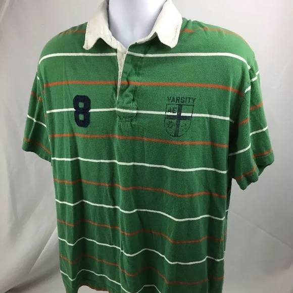 45f0f30372 American Eagle Outfitters Shirts | American Eagle Vintage Rugby ...